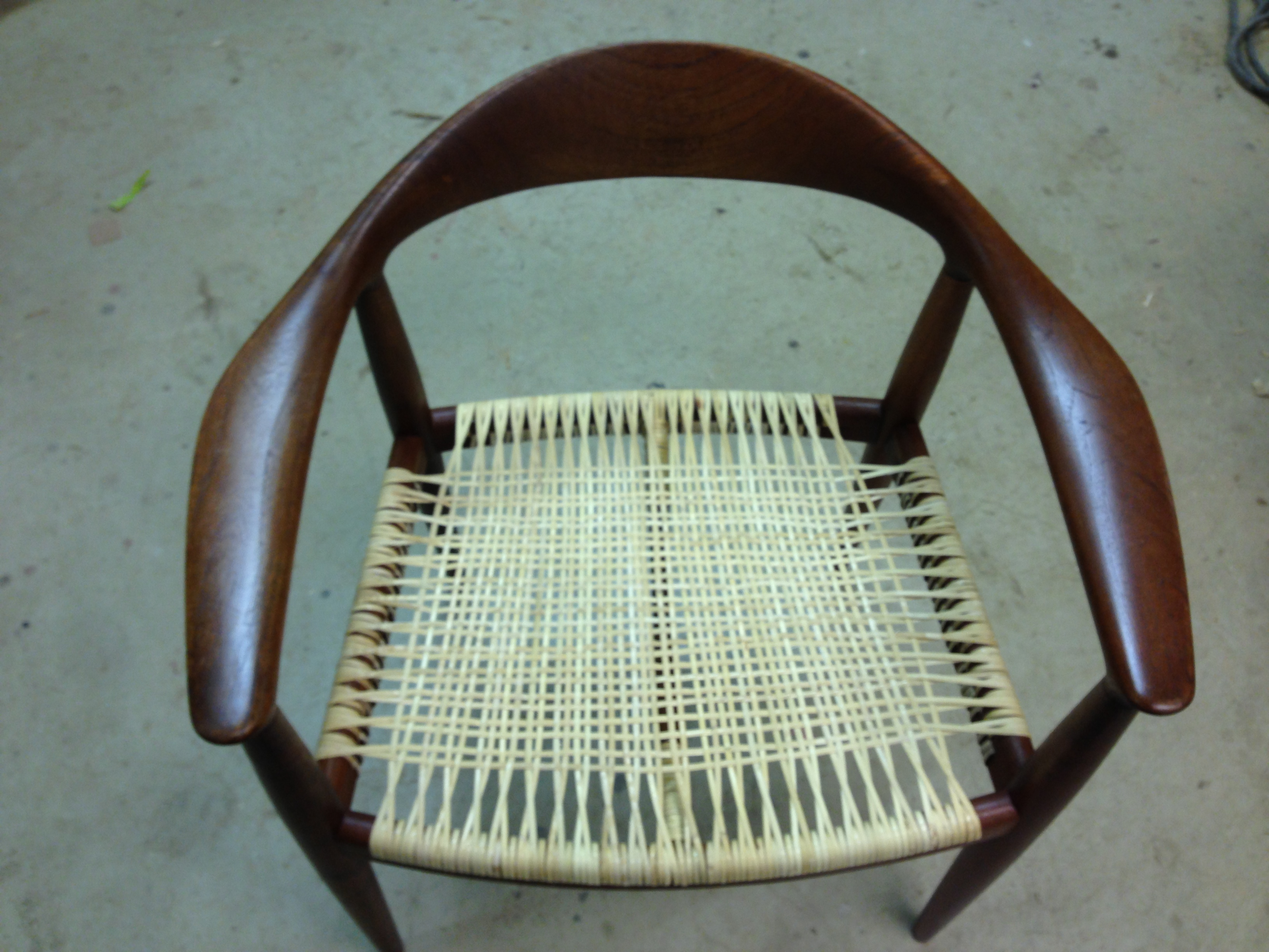 Chair after - restoration
